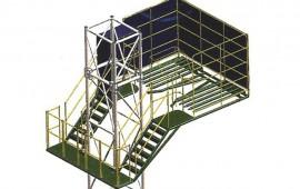 Балконы верхового рабочего