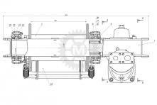 Вспомогательная лебедка ЛВ-01В