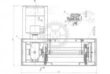 Вспомогательная лебедка ЛВ-02В