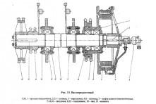 Вал передаточный А50М.02.02.000